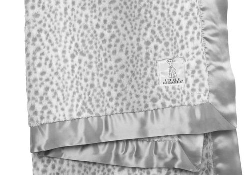 Little Giraffe Little Giraffe Luxe Snow Leopard Blanket