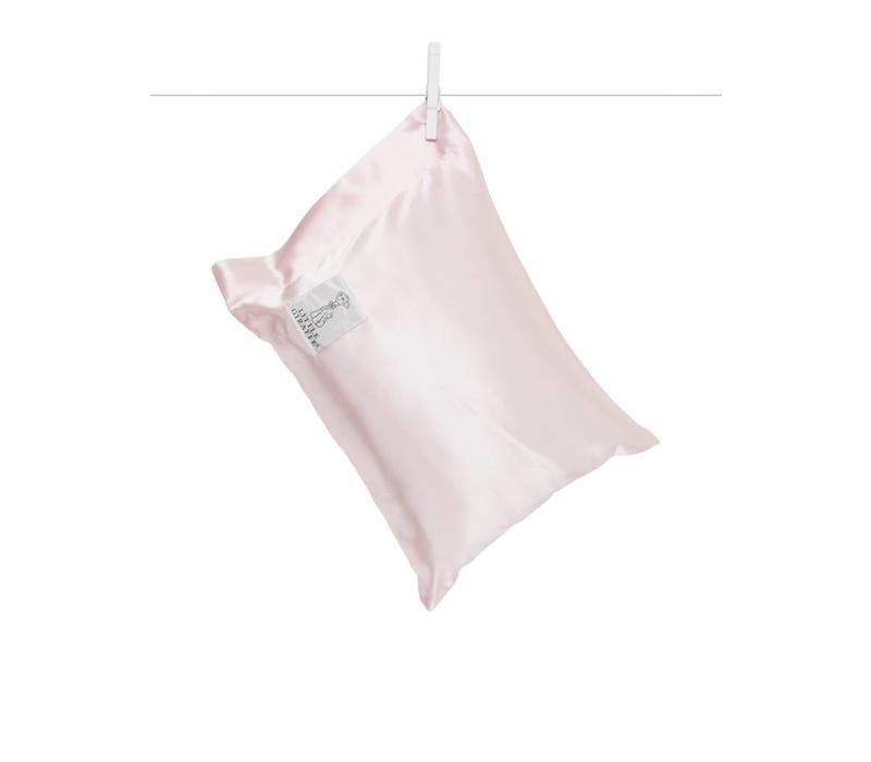 Little Giraffe Satin Nap Pillow In Pink