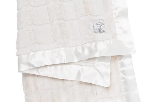 Little Giraffe Little Giraffe Luxe Waterfall Blanket In Cream