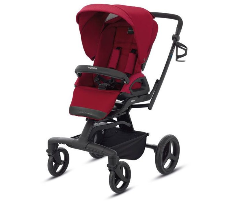 2017 Quad Stroller In Intense Red