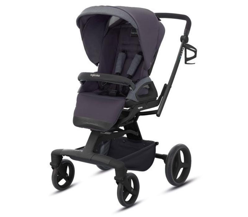 2017 Quad Stroller In Stone Grey