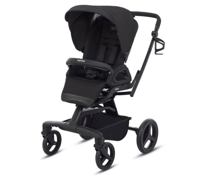 2017 Quad Stroller In Total Black