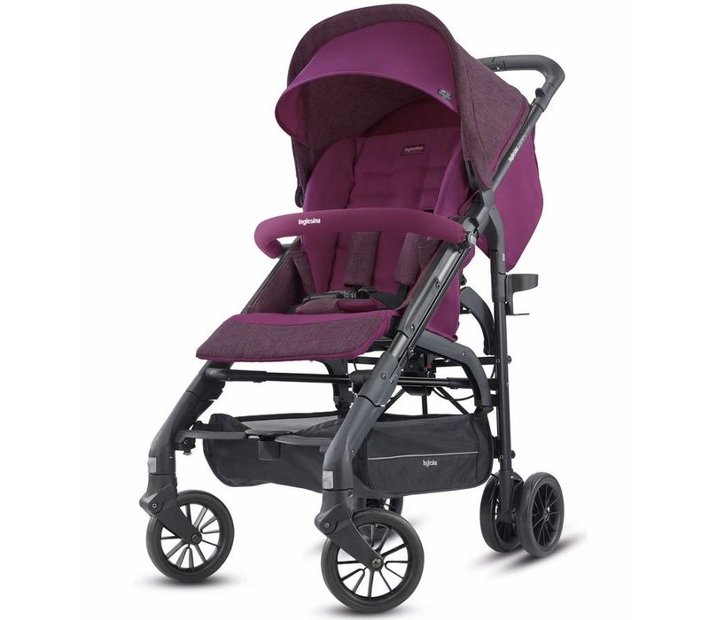 2018 Inglesina Zippy Light Stroller In Raspberry Purple