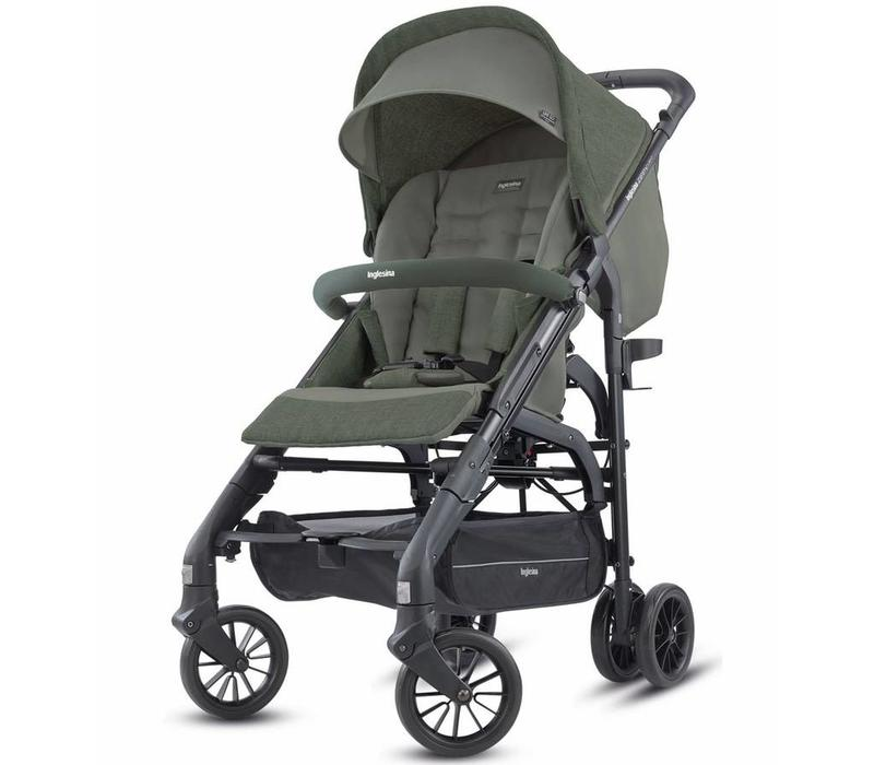 2018 Inglesina Zippy Light Stroller In Camp Green