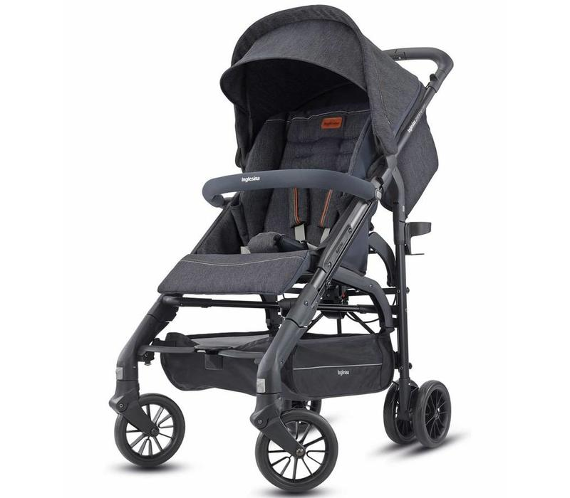2018 Inglesina Zippy Light Stroller In Village Denim