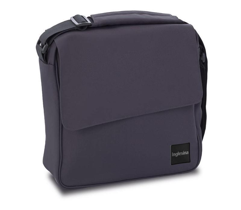 Inglesina Quad/Trilogy City Diaper Bag In Stone Gray