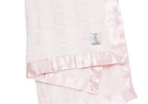 Little Giraffe Little Giraffe Luxe Waterfall Blanket In Pink