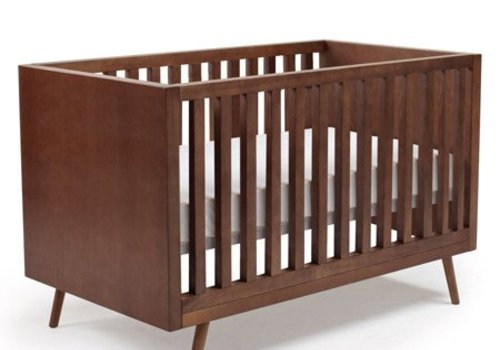 Ubabub Ubabub Nifty Timber Crib In Walnut