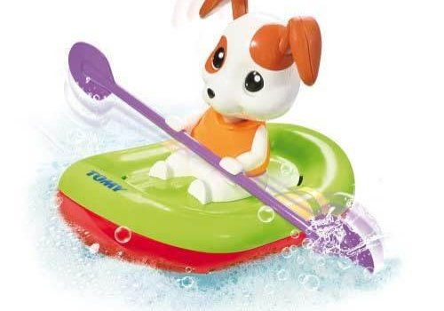 Tomy Tomy Paddling Puppy Bath Toy