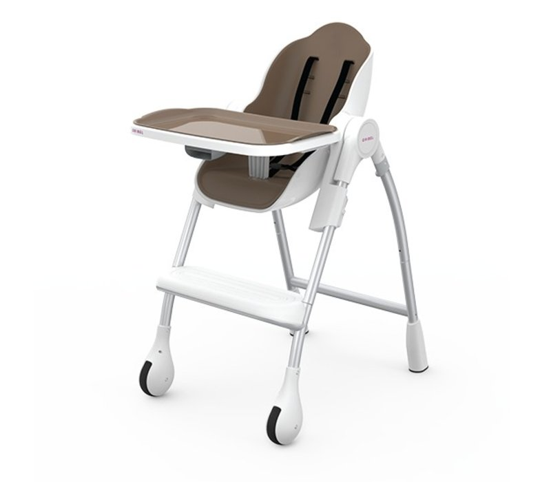 Oribel Cocoon High Chair In Almond