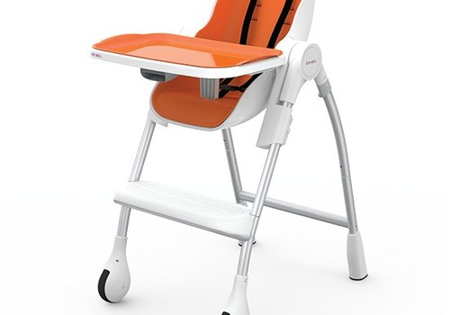 Oribel Oribel Cocoon High Chair In Orange
