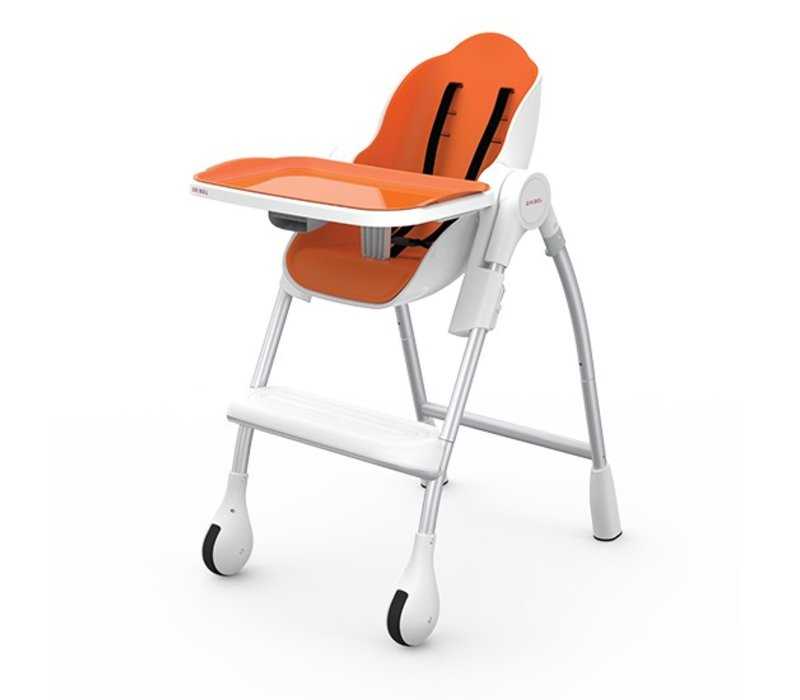 Oribel Cocoon High Chair In Orange