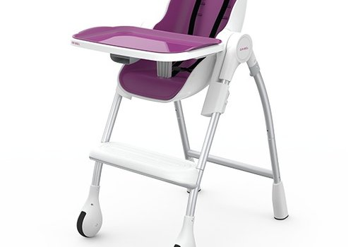 Oribel Oribel Cocoon High Chair In Plum