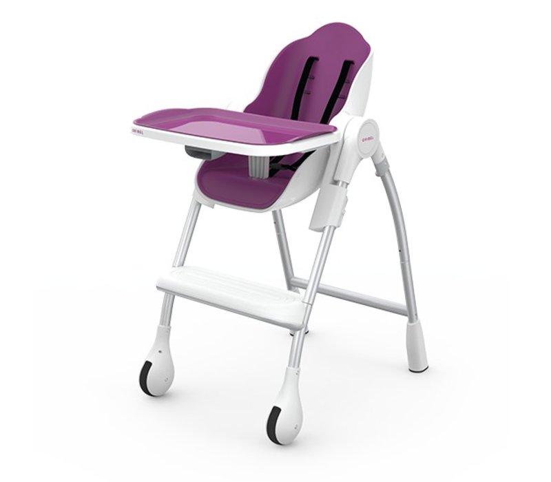 Oribel Cocoon High Chair In Plum
