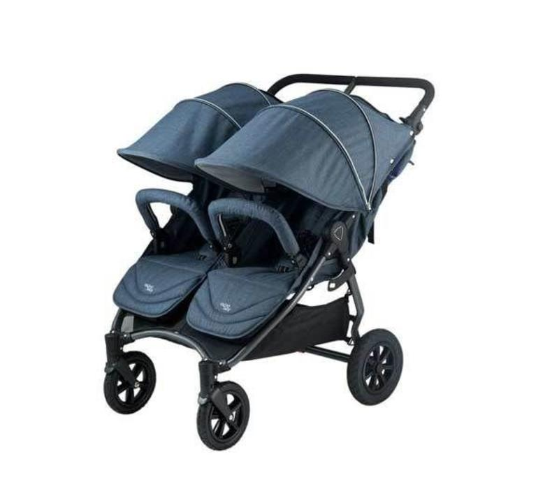 Valco Baby Neo Twin Duo In Tailormade Denim Blue