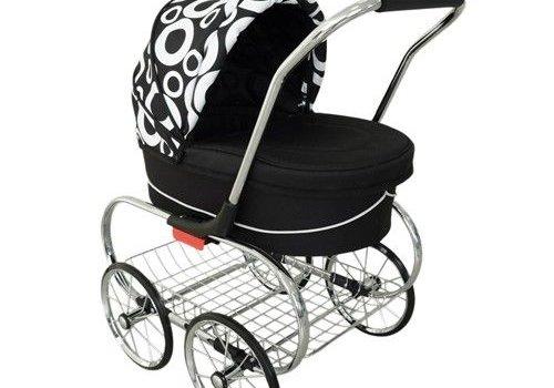 Valco Baby Valco Baby Princess Doll Stroller Cirque Black