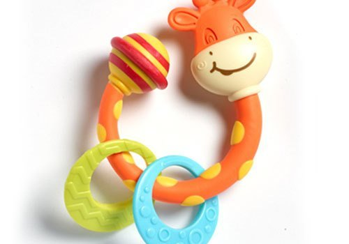 Tiny Love Tiny Love Tiny Giraffe Teether Rattle