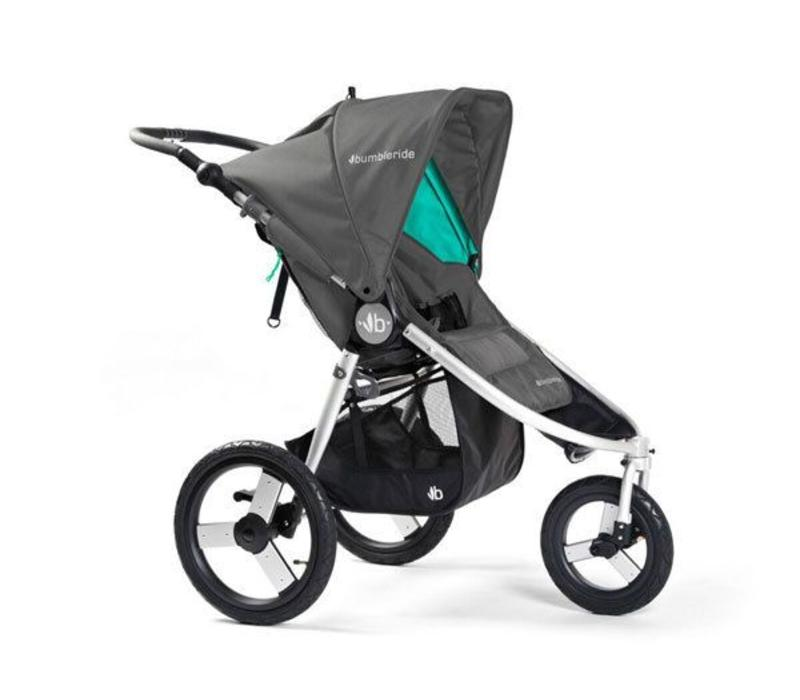 2017 Bumbleride Speed Stroller in Dawn Grey