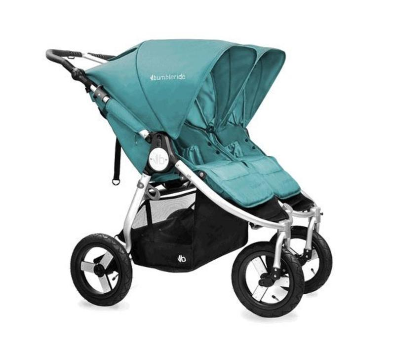 2017 Bumbleride Indie Twin Stroller In Tourmaline