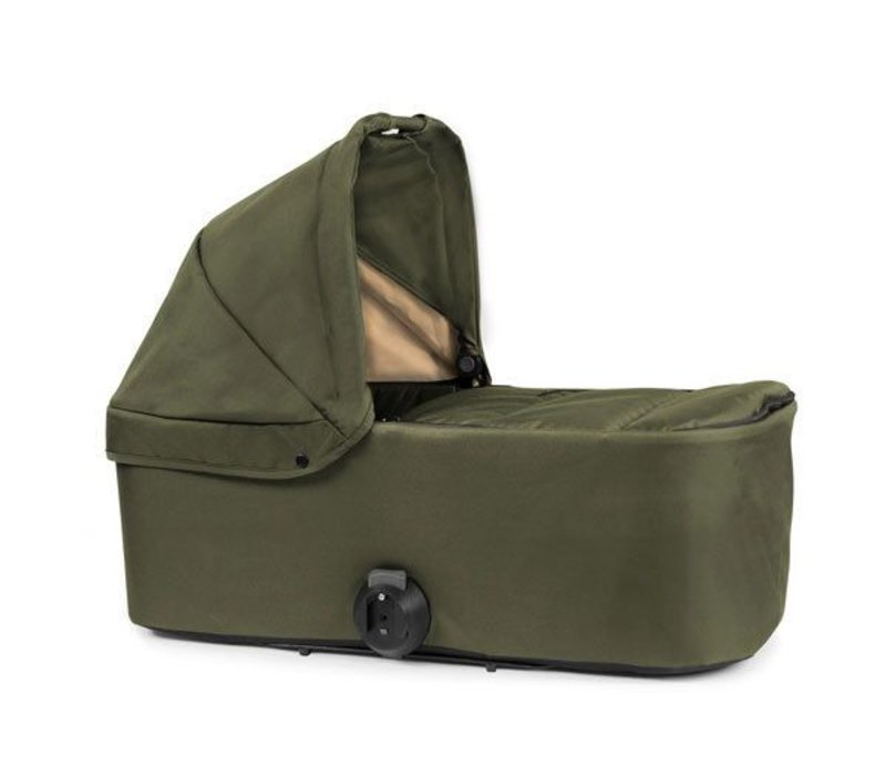 2017 Bumbleride Indie Single Bassinet-Carrycot In Camp Green
