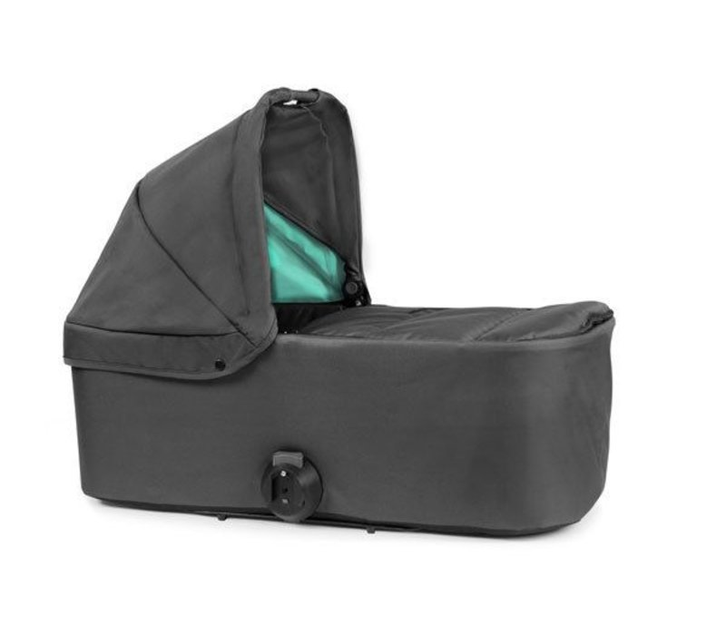 2017 Bumbleride Indie Twin Bassinet-Carrycot In Dawn Grey