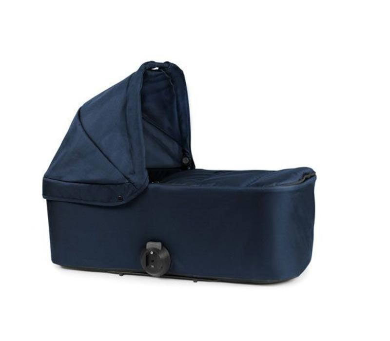 2017 Bumbleride Indie Twin Bassinet-Carrycot In Maritime Blue