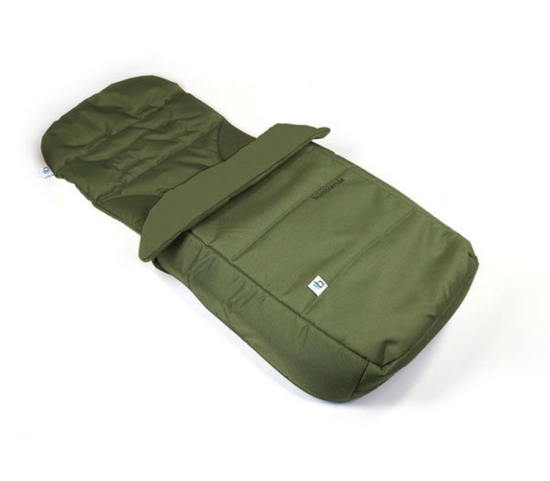 2017 Bumbleride Footmuff and Liner In Camp Green