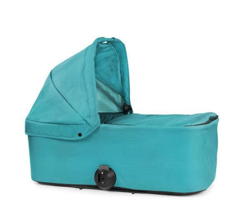 2017 Bumbleride Indie Twin Bassinet-Carrycot In Tourmaline