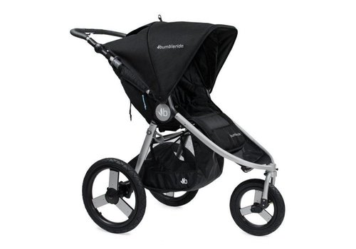 Bumbleride 2017 Bumbleride Speed Stroller in Silver Black