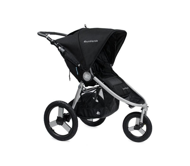 2017 Bumbleride Speed Stroller in Silver Black