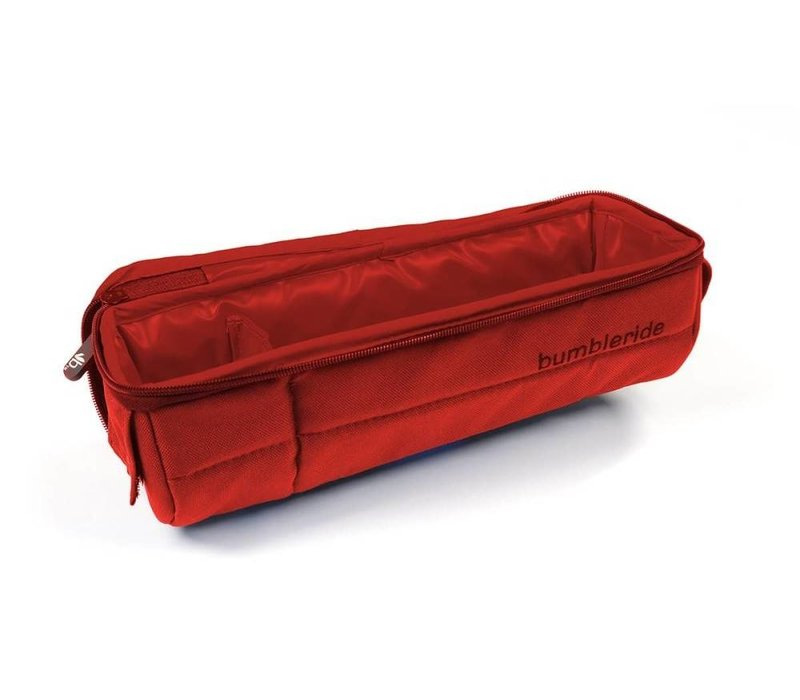 Bumbleride Snack Pack In Red Sand For Double Strollers