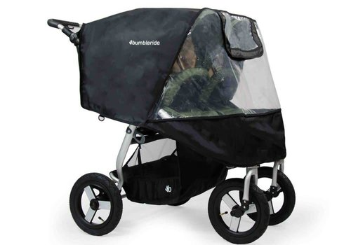 Bumbleride 2017 Bumbleride Indie Twin Stroller Rain Cover (NON PVC)