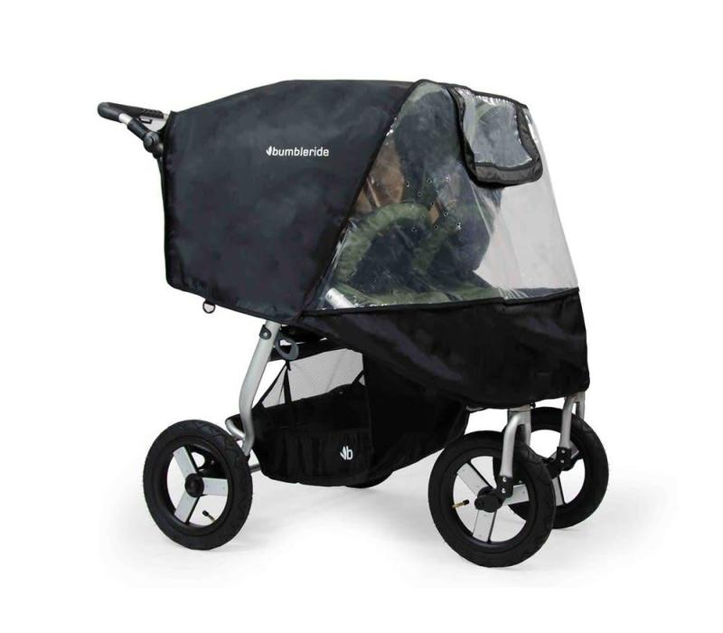 2017 Bumbleride Indie Twin Stroller Rain Cover (NON PVC)