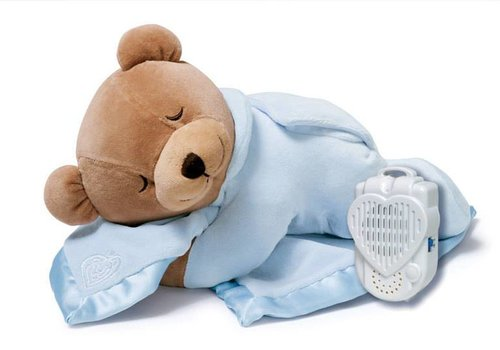 Prince Lionheart Prince Lionheart Slumber Bear With Silkie In Ice Blue