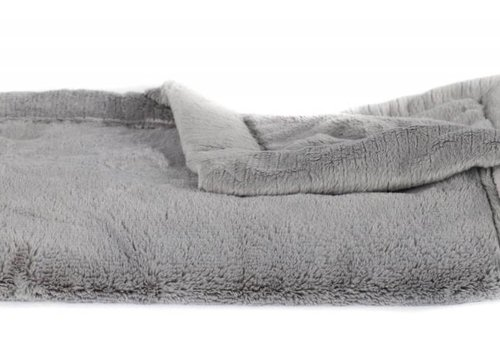"Saranoni Saranoni Receiving Blanket In Gray Lush/Gray Lush Medium 30"" x 40"""