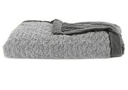 "Saranoni Saranoni Receiving Blanket In Gray Swirl/Charcoal Lush Medium 30"" x 40"""