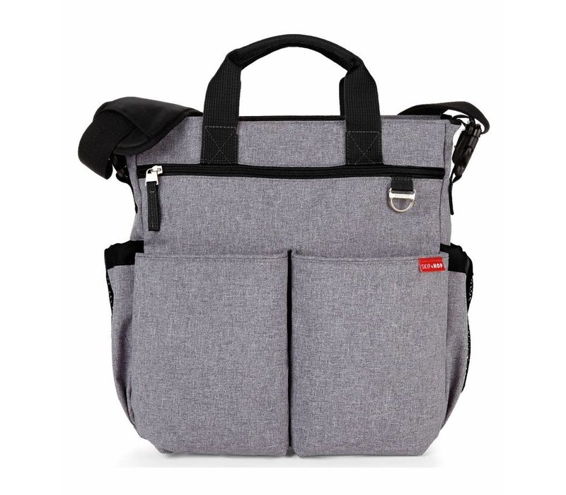 Skip Hop Duo Signature In Heather Grey