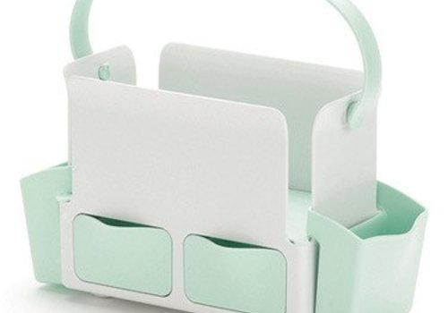 Skip Hop CLOSEOUT!! Skip Hop Toolbox Diaper Caddy In White