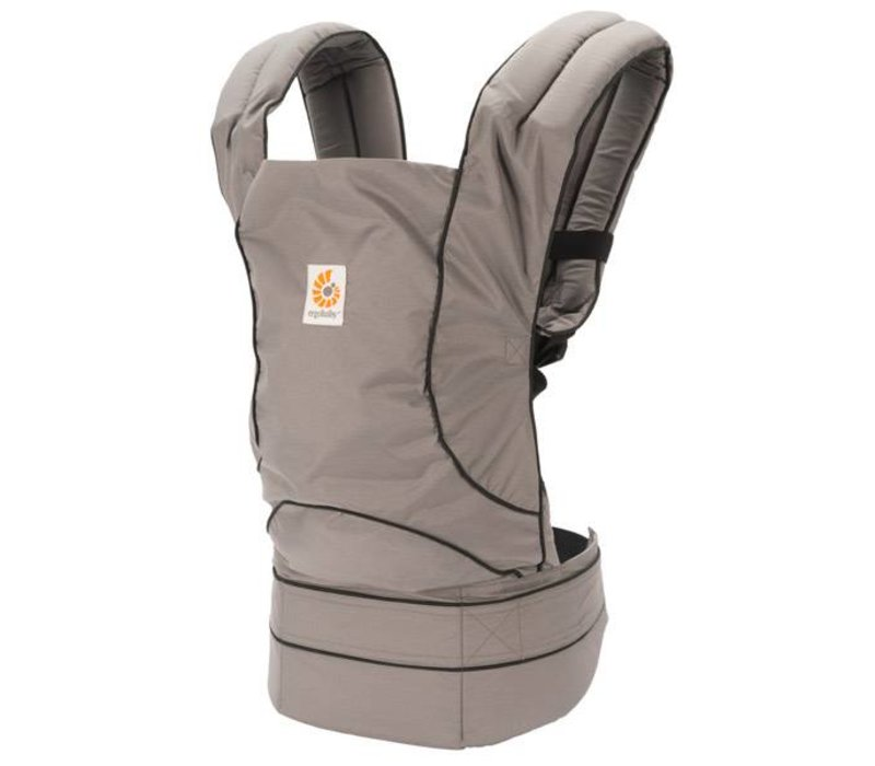 Ergobaby Travel Baby Carrier In Stowaway Graphite Grey