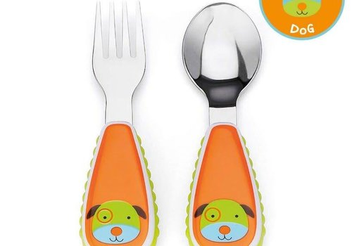Skip Hop Skip Hop Zoo Utensil Set Dog