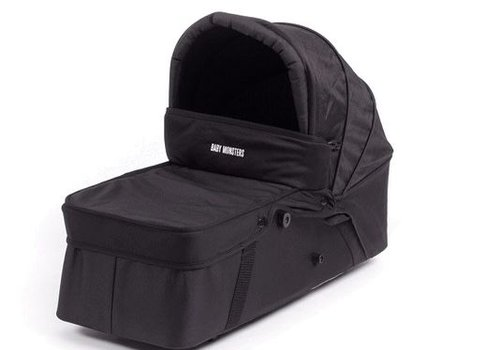 Baby Monster Baby Monsters Easy Twin Side Carrycot - Black