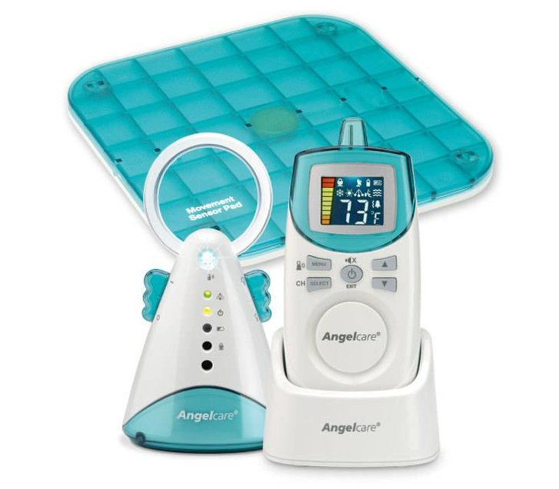 Angel Care Deluxe Movement Sensor And Sound Monitor With 1 Parent Unit