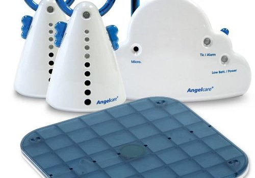 AngelCare Angel Care Movement Sensor And Sound Monitor With 2 Parents Units