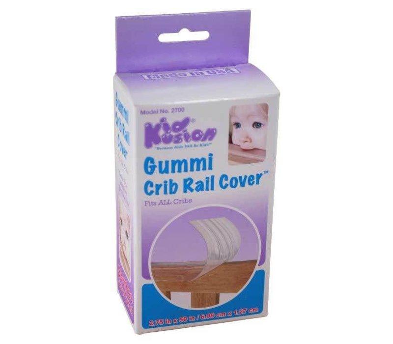 Kid Kusion Gummi Crib Rail Clear