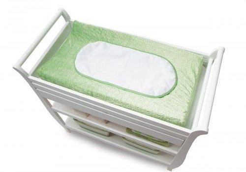 Boppy **FINAL SALE** Boppy Changing Pad Fabric In Mod Circles Meadow Green