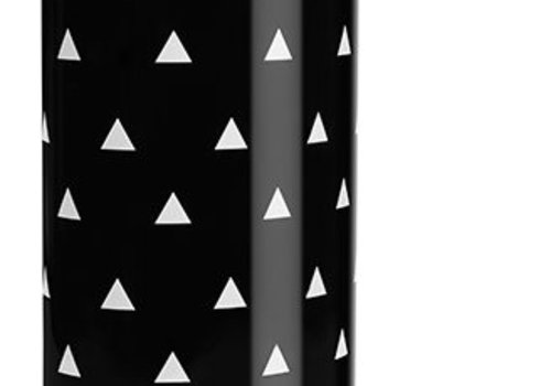 Ubbi World Ubbi Diaper Pail In Black-Triangles