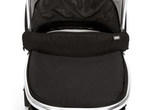 Mamas And Papas Mamas And Papas Urbo 2 Chrome Carrycot In Black