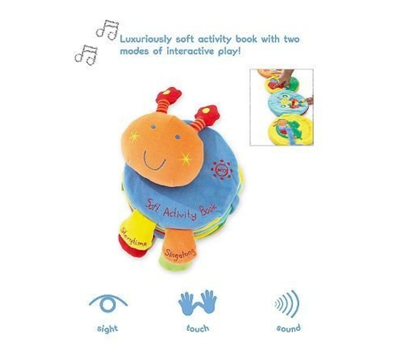 CLOSEOUT!! Mamas And Papas Listen And Learn Activity Book
