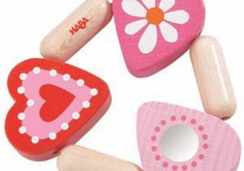 Haba Haba Mimi Rattle Clutching toy