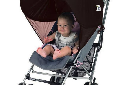Protect-A-Bub Protect-A-Bub Compact Single Sunshade In Brown